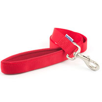 Red Ancol Padded Dog Lead - Large