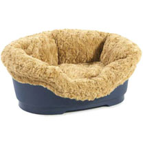 Brown Do Not Disturb Soft 'n' Snug Bed Insert (to fit 50cm bed)