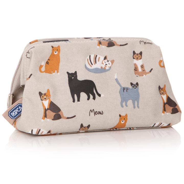 Meow Cat Cosmetics Bag