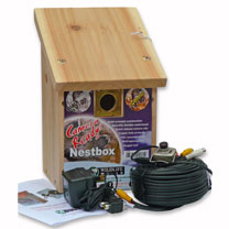 Bird Nest Box with Infrared Camera