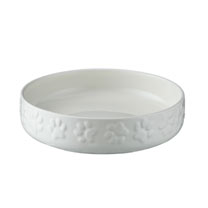 Cream Small Dog Bowl