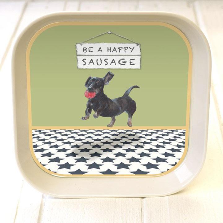 Happy Sausage Trinket Tray