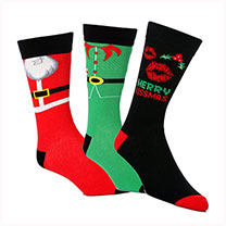 Novelty Christmas Socks Gents