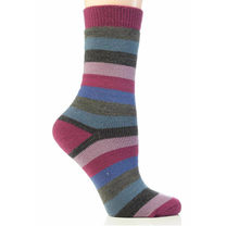 Thermal Stripe Socks