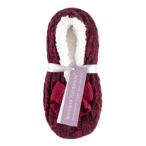 Knitted Slippers - Ladies