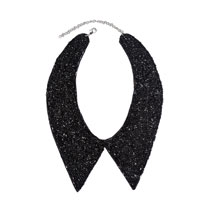 Beaded Collar - Black