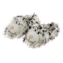 Snow Leopard Slippers