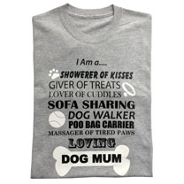 T-shirt Dog Mum