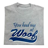 T-shirt Woof - S/M