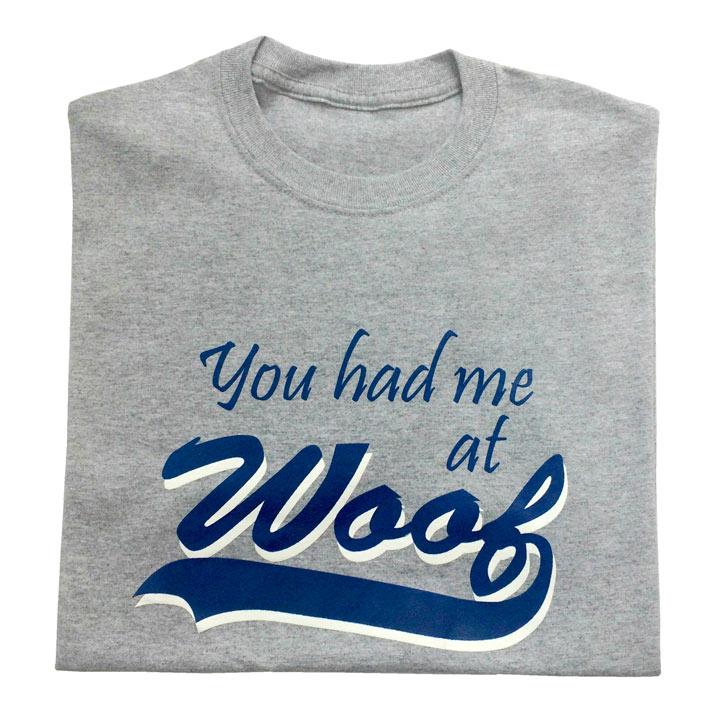 T-shirt Woof