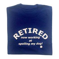 T-shirt Retired - L/XL