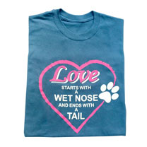 T-shirt Wet Nose