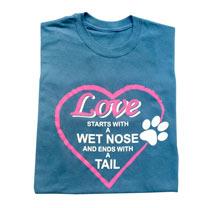 T-shirt Wet Nose