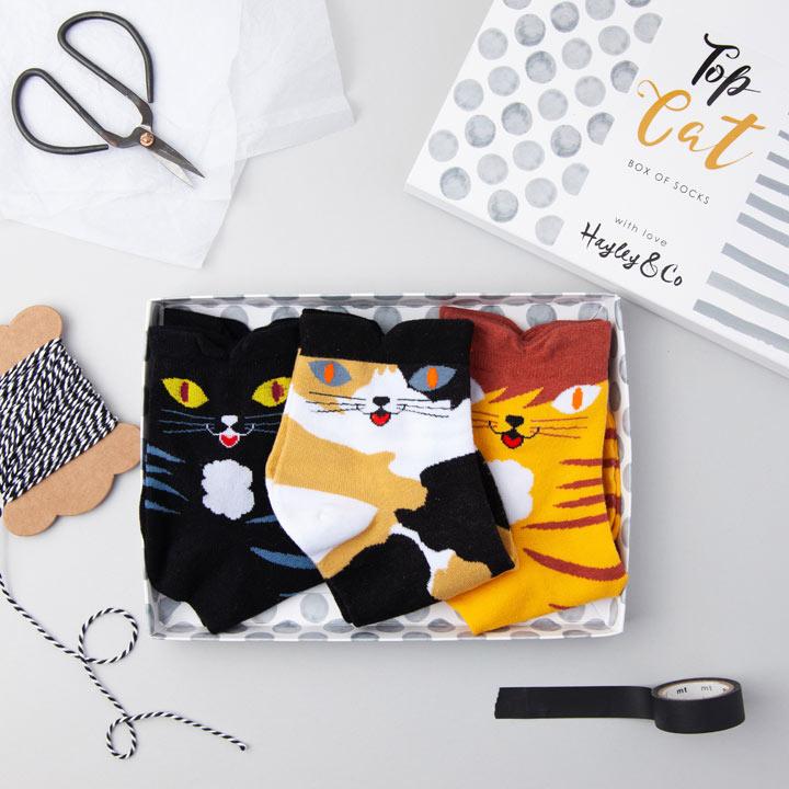Top Cat Socks
