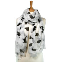 Scarf - Black Cat Scarf