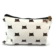 Black Cat Wash Bag