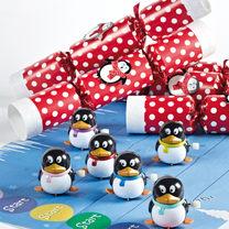 Racing Penguin Crackers