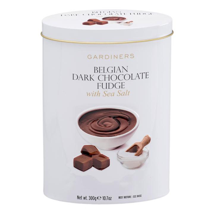 Belgian Chocolate & Sea Salt Fudge