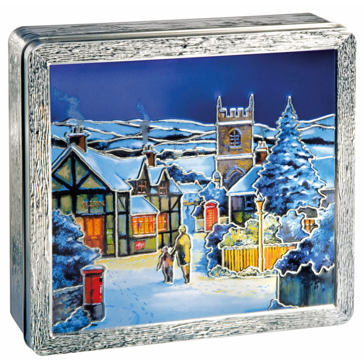 Winter Biscuit Assortment Tin