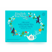 Wellness Tea Collection and Wooden Tea Box