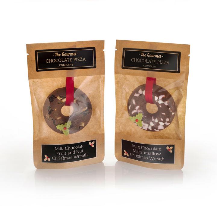 Chocolate Wreath Twin Pack