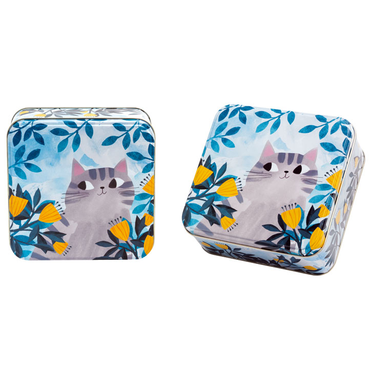 Cat Tin with Biscuits