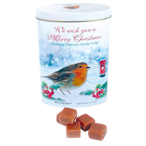Robin Christmas Tin