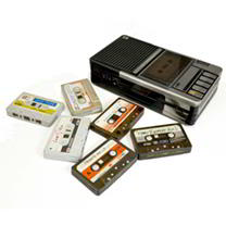 Cassette Tape Tin with Arctic Mints