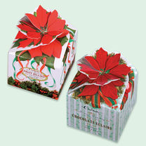 Poinsettia Box Jellies or Chocolate Eclairs