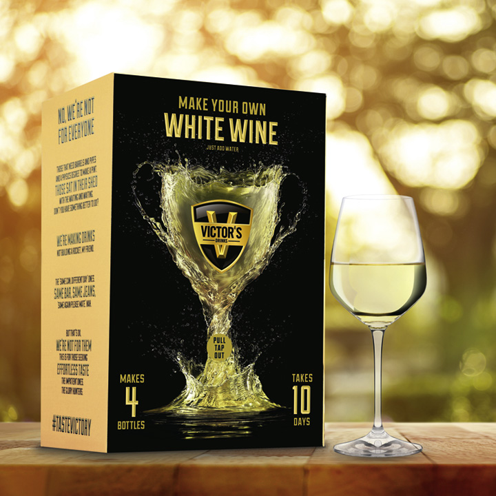 Homemade Wine - White