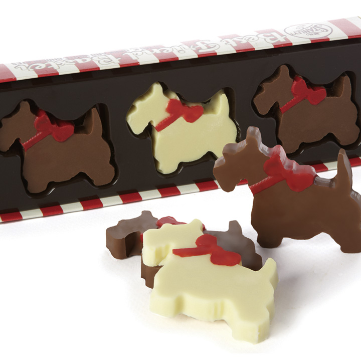 Chocolate Scotties