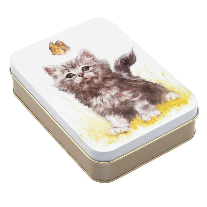 Cat Tin with Honeycomb