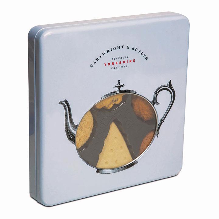 Teapot Biscuit Tin