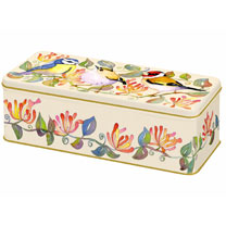 Garden Birds Biscuit Tin
