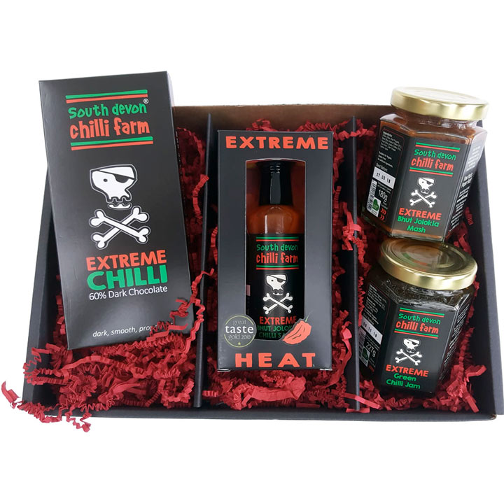 Extreme heat chilli hamper gifts for him gift ideas for Gardening gifts for him