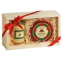 Christmas Pudding Gift Box