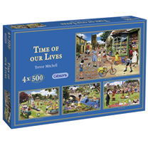 Jigsaw Puzzles - Time of Our Lives and Rag & Bone