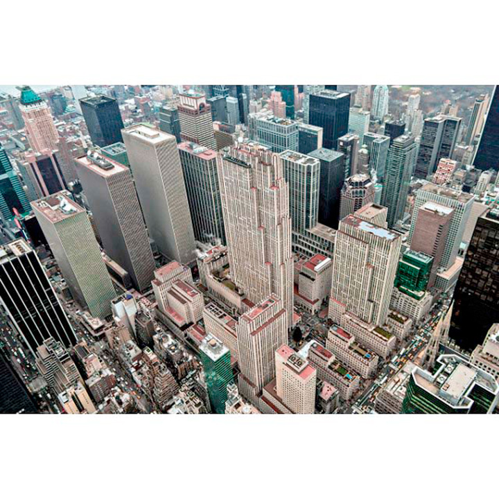Sky View New York Jigsaw Puzzle