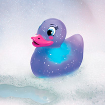 Bath Duck Moonlight