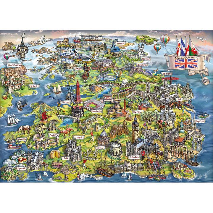 Beautiful Britain Jigsaw