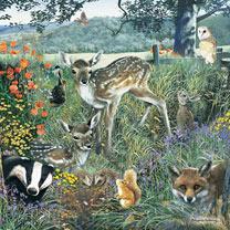 Woodland Friends Jigsaw
