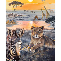 Safari Sundown Jigsaw