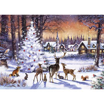 Christmas Gathering Jigsaw