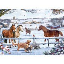 Christmas on the Farm Jigsaw