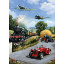 Nostalgic Transport Jigsaw