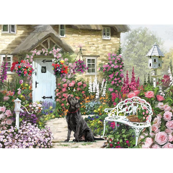 Cottage Garden Jigsaw