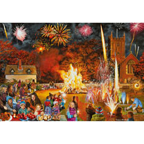 Village Celebrations Jigsaws - 4 x 500pce