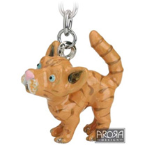 Little Paws Keyring - Ginger Cat