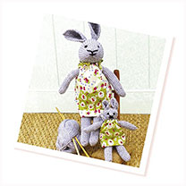 Knitting Kit - Teddy or Bunny