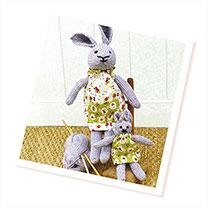 Knitting Kit - Teddy or Bunny